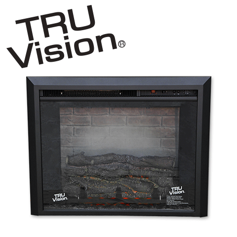 TruVision Electric Fireplace